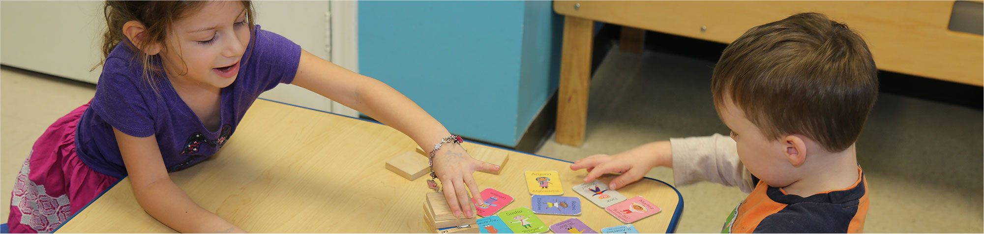 Children Playing Games at Kid City Childcare